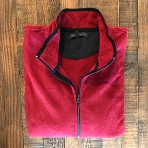 Men's - Saks Fifth Ave. Full Zipper Fleece Jacket